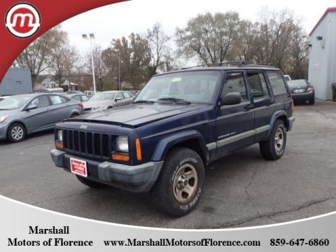 Pre-Owned 2001 Jeep Cherokee Sport